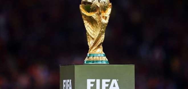 Trofeo de la copa mundial de fútbol.