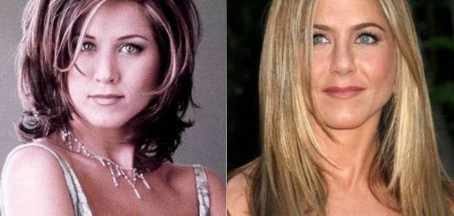 El corte de cabello de Jennifer se popularizó en todo el mundo. Foto: Archivo