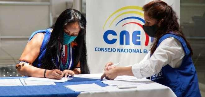 Las elecciones nacionales están pactadas para el próximo 7 de febrero en todo el territorio ecuatoriano.