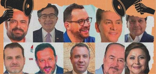 Siete de los 16 candidatos no llegan ni al 1% de votación.
