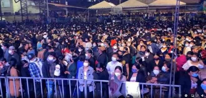 Sábado 20 de febrero se realizó un concierto con 3 mil personas