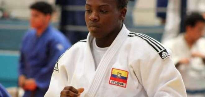 Vanessa Chalá, judoca ecuatoriana.