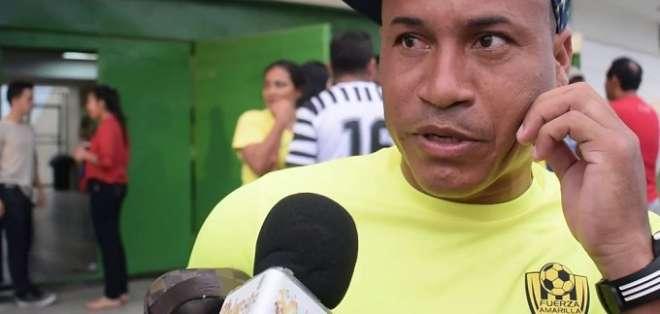 Freddy Olivo, jugador que presentó la denuncia