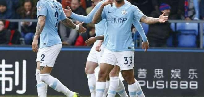 Gol de Gabriel para el City.