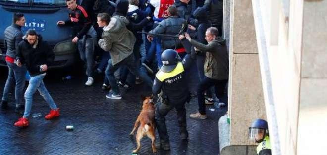 Problemas en Ámsterdam.