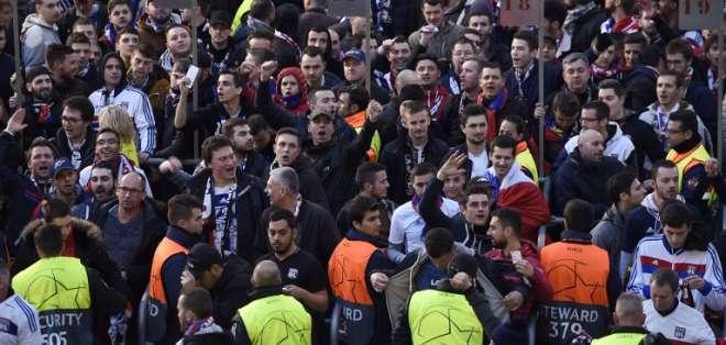 La Policía detuvo 5 personas por los enfrentamientos. Josep LAGO / AFP