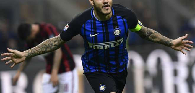 Mauro Icardi, figura del Inter de Milán.