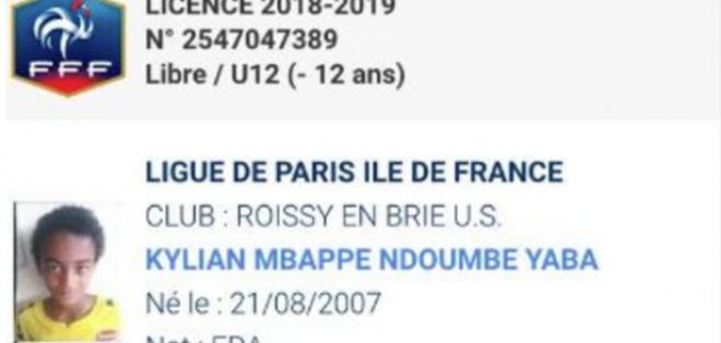 Ficha técnica de Kylian Mbappé Ndoumbe Yaba.