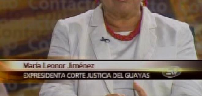 Jiménez: Jueces debieron aplicar convenios internacionales