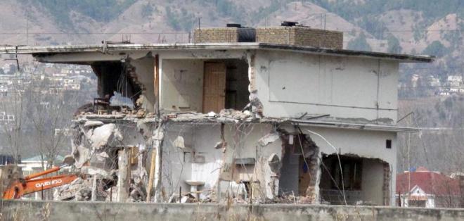 Pakistán derriba el escondite de Bin Laden en Abbottabad