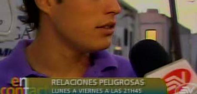 El ecuatoriano Danilo Carrera le revela a la Flaca Guerrero cómo llegó a Relaciones Peligrosas