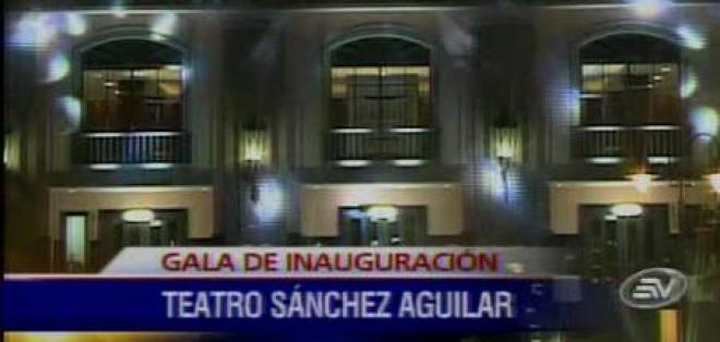 Se inauguró el Teatro Sánchez Aguilar en Samborondón