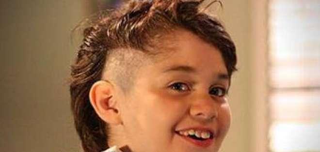 'Lalito' de Una Maid en Manhattan donó su cabello a los niños con cáncer