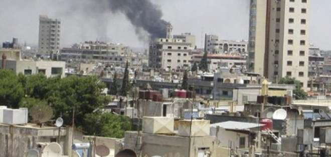 Siria niega guerra civil y habla de conflicto con grupos terroristas