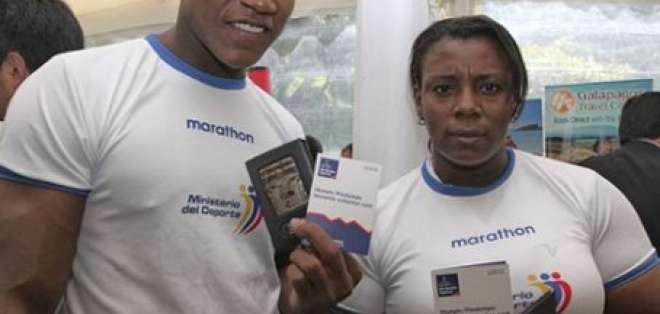 Atletas que irán a Londres 2012 recibieron documentación