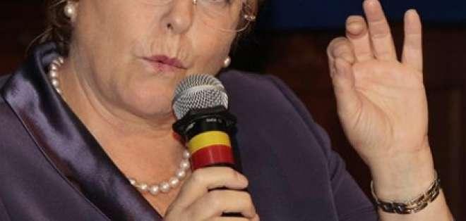 Bachelet: La pobreza en América Latina tiene cara de mujer y de niño