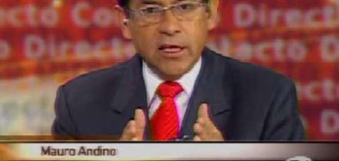Andino: Estoy en desacuerdo con la decisión del Presidente
