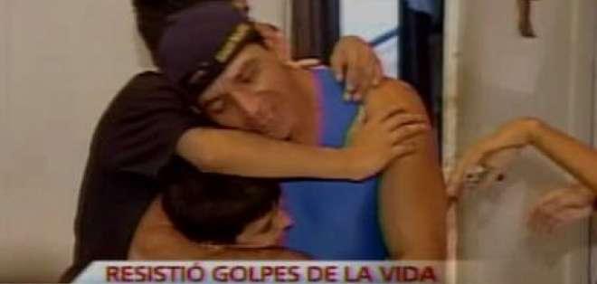 Aquiles Calderón, un padre y deportista ejemplar