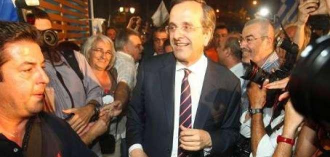 Conservadores ganan elecciones griegas con 94 por ciento escrutado