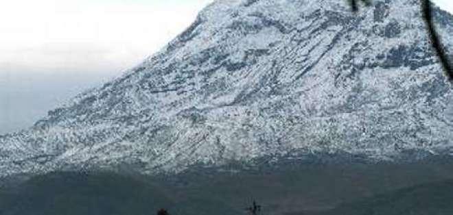 Se confirma muerte de montañista español en volcán Chimborazo