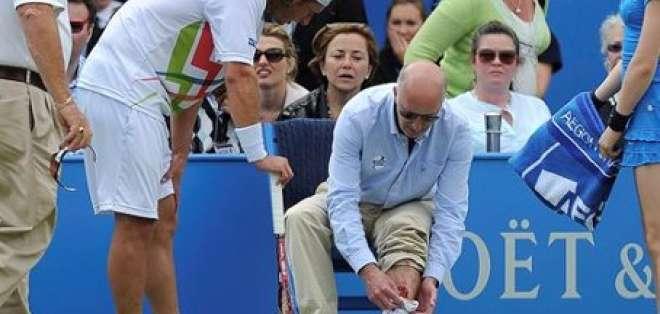 Nalbandian es investigado por conducta agresiva en torneo de Queen's