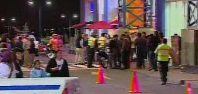 Se difunden imágenes de balacera en el Quicentro Sur de Quito