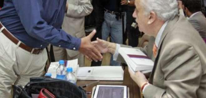 Terminó la audiencia contra el exministro Raúl Carrión