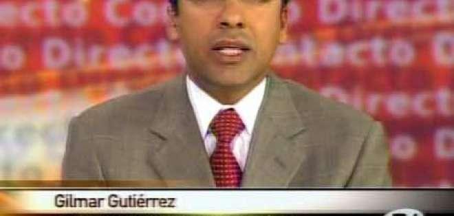 Gutiérrez: Gobierno quiere amedrentar a los medios