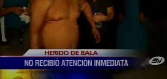 Autoridad del Hospital Guayaquil asegura que sí atendió a hombre herido