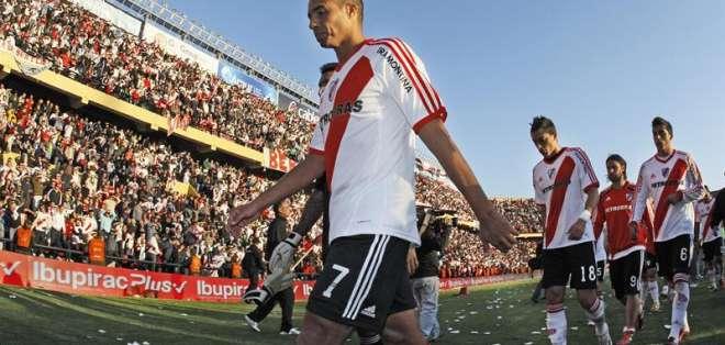 Trezeguet devuelve a River Plate a la primera división