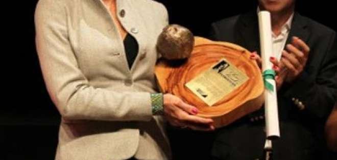 Actriz Christiane Torloni fue homenajeada por su activismo ambiental