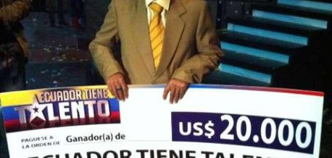 Luis Castillo puso a reír al país y alcanzó la gloria en Ecuador Tiene Talento