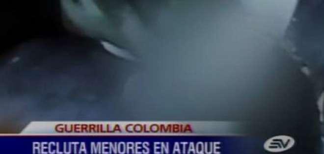 Las FARC usan a menores camuflados para detonar explosivos