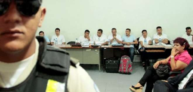 Tribunal de Manabí declara culpables a miembros de Los Choneros