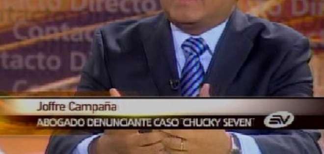 Campaña: Fiscal Gagliardo cayó en la trampa