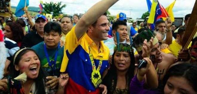 Capriles promete trabajar al servicio del Venezuela más olvidado