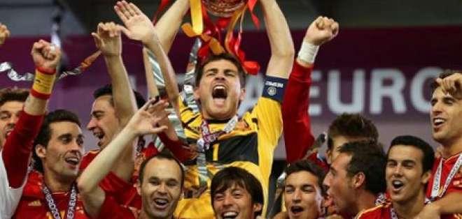 España revalida su título de la Eurocopa tras golear a Italia