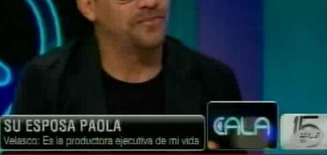 Juan Fernando Velasco desde los estudios de CNN