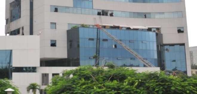 Torre A del complejo empresarial Las Cámaras está inhabilitada