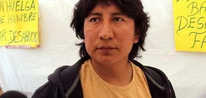 Ecuatoriano desalojado sigue en huelga de hambre en España