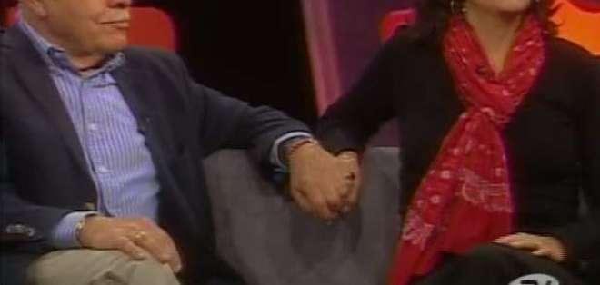Diferencia de edad no afecta al matrimonio de la presentadora Michelle Oquendo