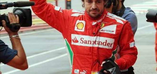 Alonso saldrá desde la 'pole' en F1 del Gran Premio de Gran Bretaña