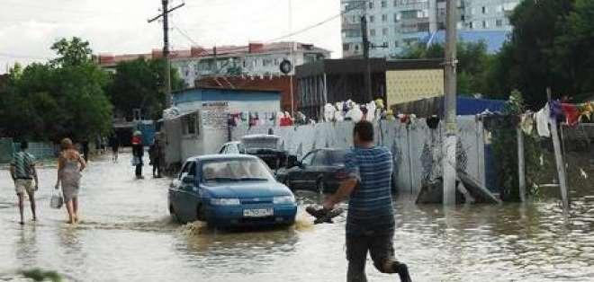 Asciende a 150 la cifra de fallecidos por inundaciones en Rusia