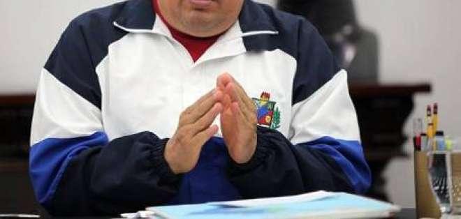 Chávez acusa a oposición de llevar violencia en sus actos de campaña