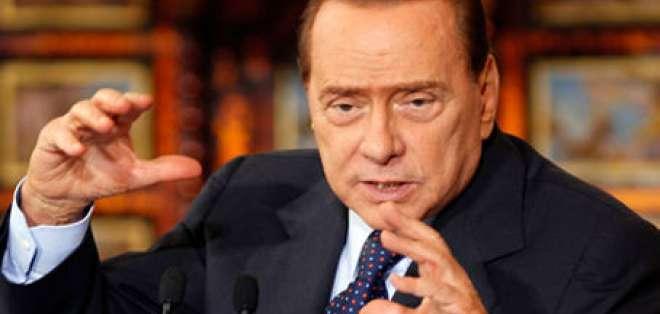 Berlusconi piensa volver a presentarse en próximas elecciones de 2013