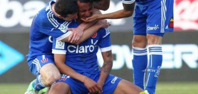 Eduardo Morante reapareció en la U de Chile marcando un gol