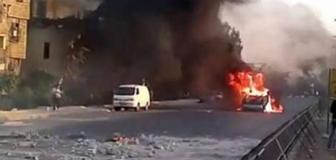 Los choques entre los rebeldes y el ejército se recrudecen dentro de Damasco