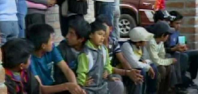 Jóvenes que se perdieron en el Pasochoa volvieron con sus familias