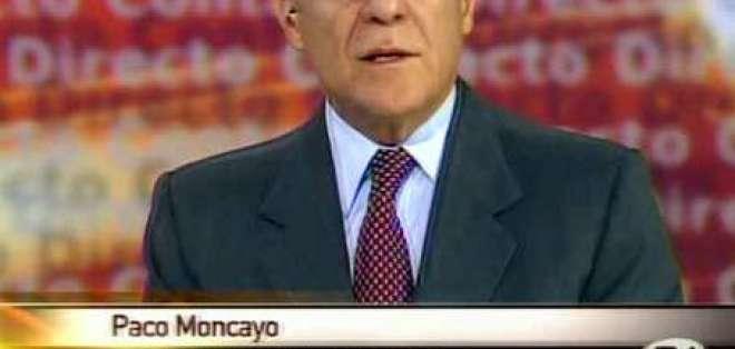 Moncayo: A sumar fuerzas para cambiar el régimen autoritario