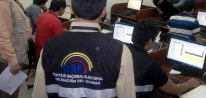 Solo cuatro organizaciones inscritas en Guayas para proceso electoral